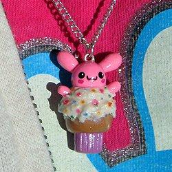 cupcake bunny charm - Tav�anc�k KoLyeLer